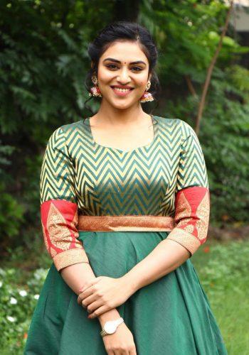 Magamuni Movie Actress Indhuja Hot Photos