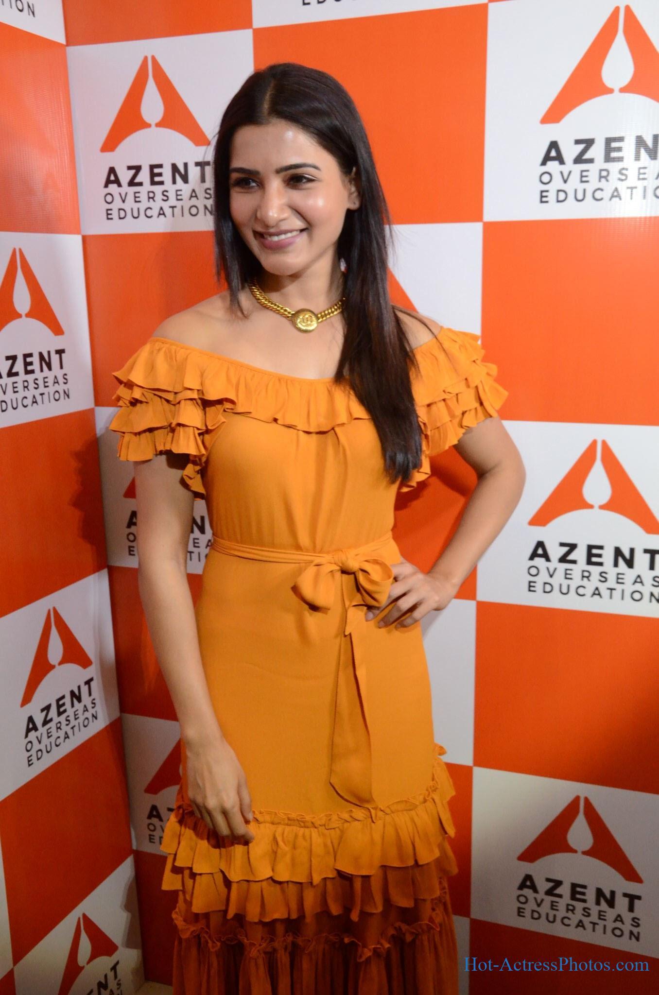 Samantha Hot Photos At Azent Hyderabad Launch