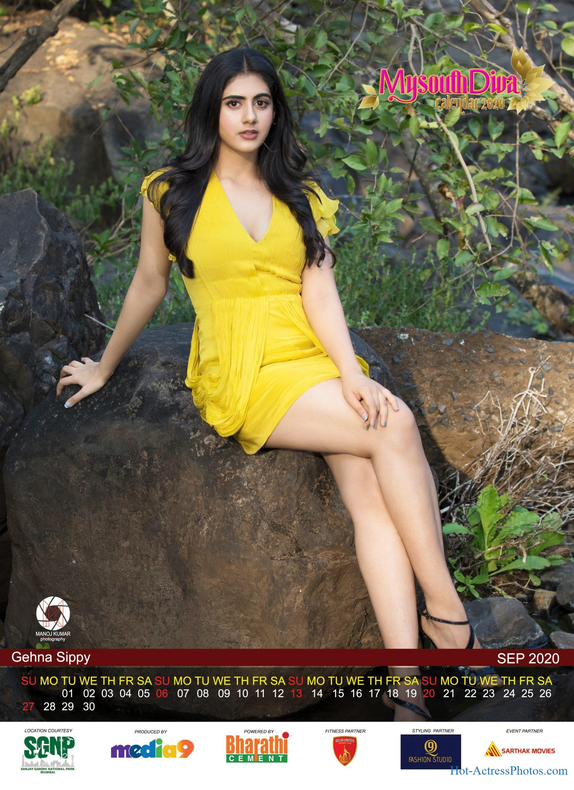 My South Diva Calendar 2020 HD Hot Photos