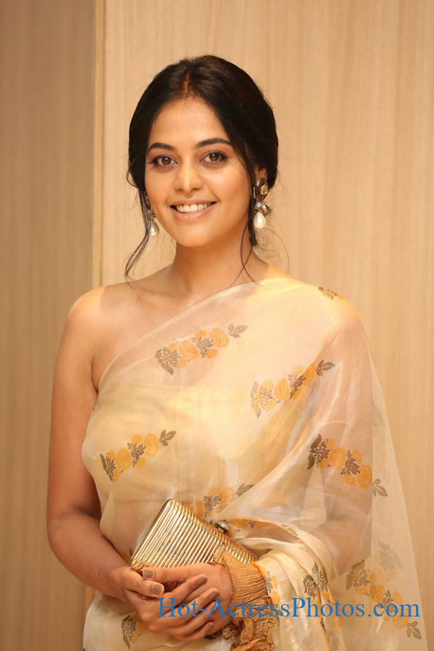 Bindu Madhavi Hot Photos In  Saree At Aha Media OTT Platform Launch