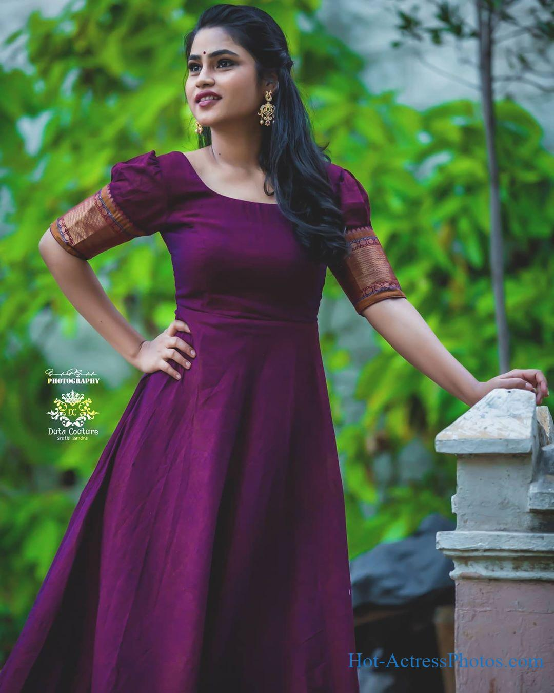 Model Sowmya Dhanavath New Cute Photoshoot Images