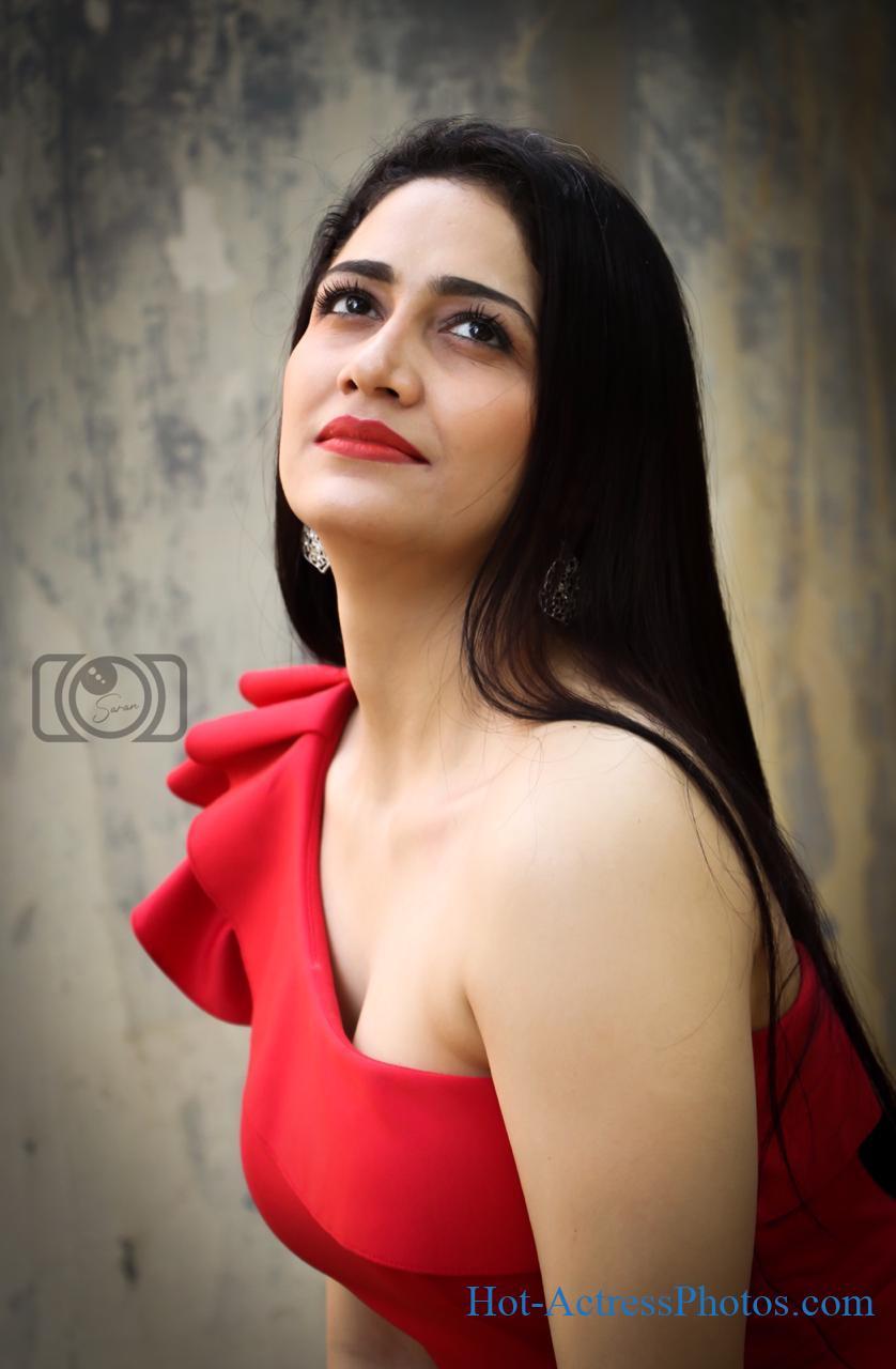 Komal Sharma Hot Cleavage Photos