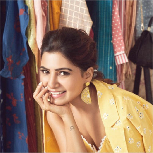 Samantha Launches her Fashion Brand SAAKI