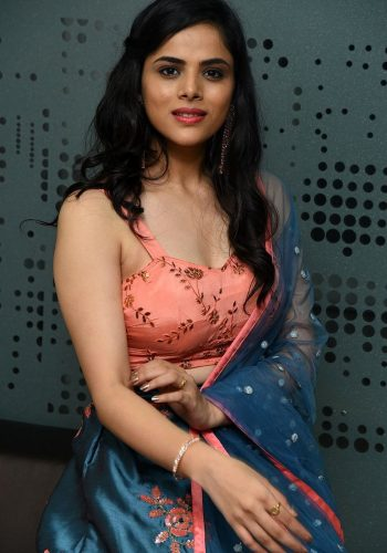 Kriti Garg Latest Hot Photos At 2 Hours Love Movie Pre-Release