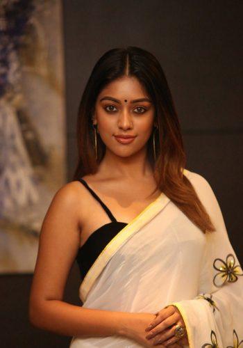 Namma Veettu Pillai Actress Anu Emmanuel Hot Photos In Saree