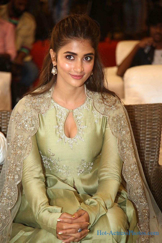 Pooja Hegde New Hot Images At Valmiki Movie Success Meet