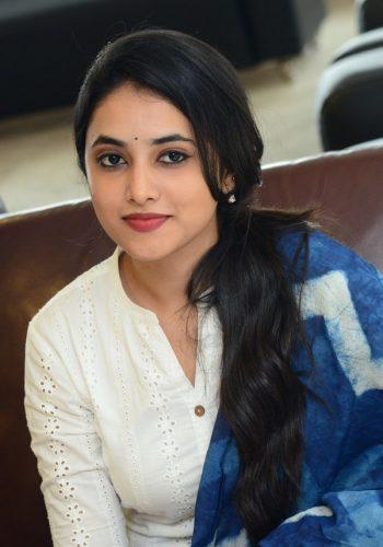 Priyanka Arul Mohan Cute Photos At Gang Leader Movie Press Meet