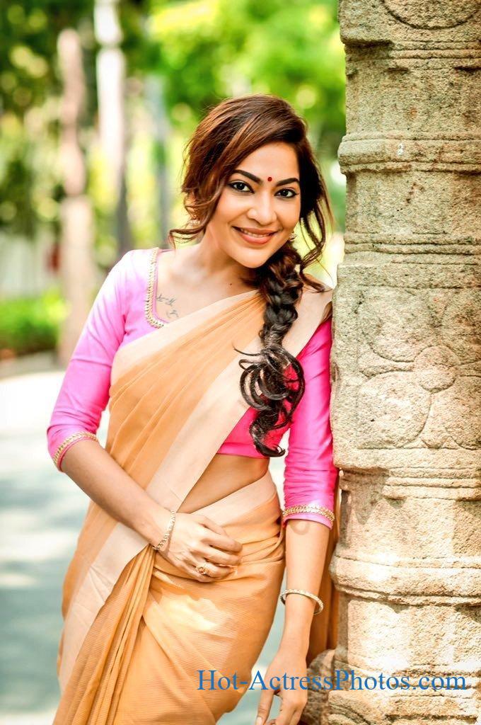 Ramya Subramanian Latest Gorgeous Photos In Saree