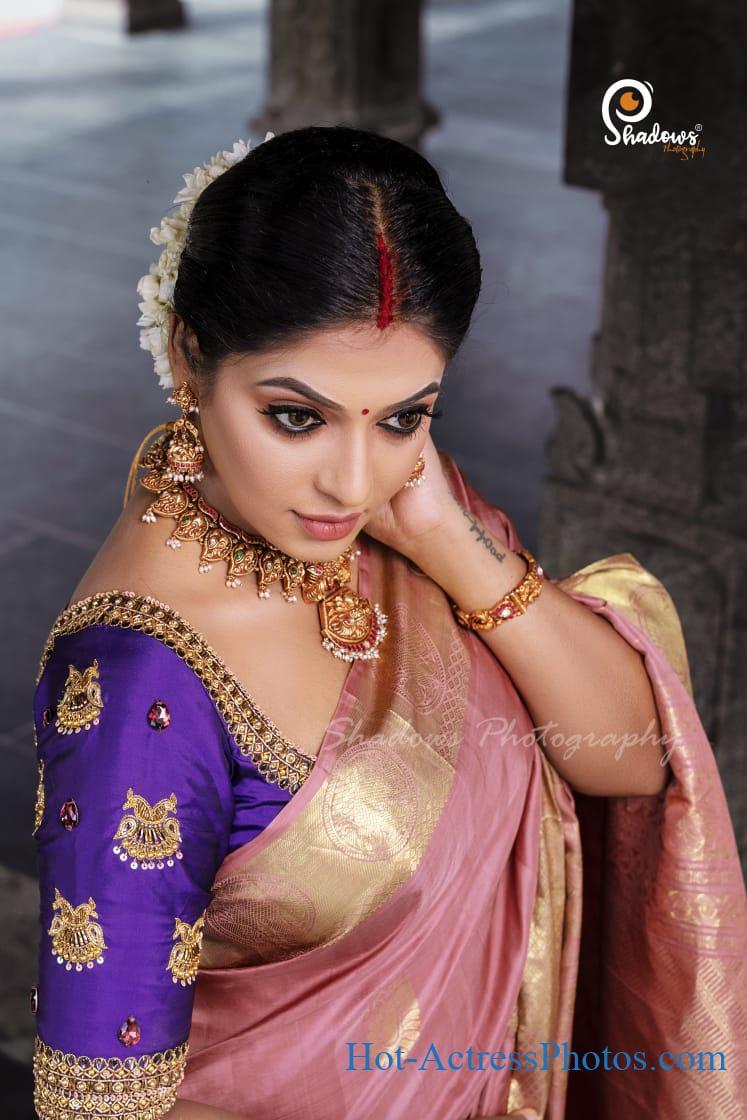Reshma Pasupuleti Bigg Boss Tamil 3 Contestant Latest Photos In Saree