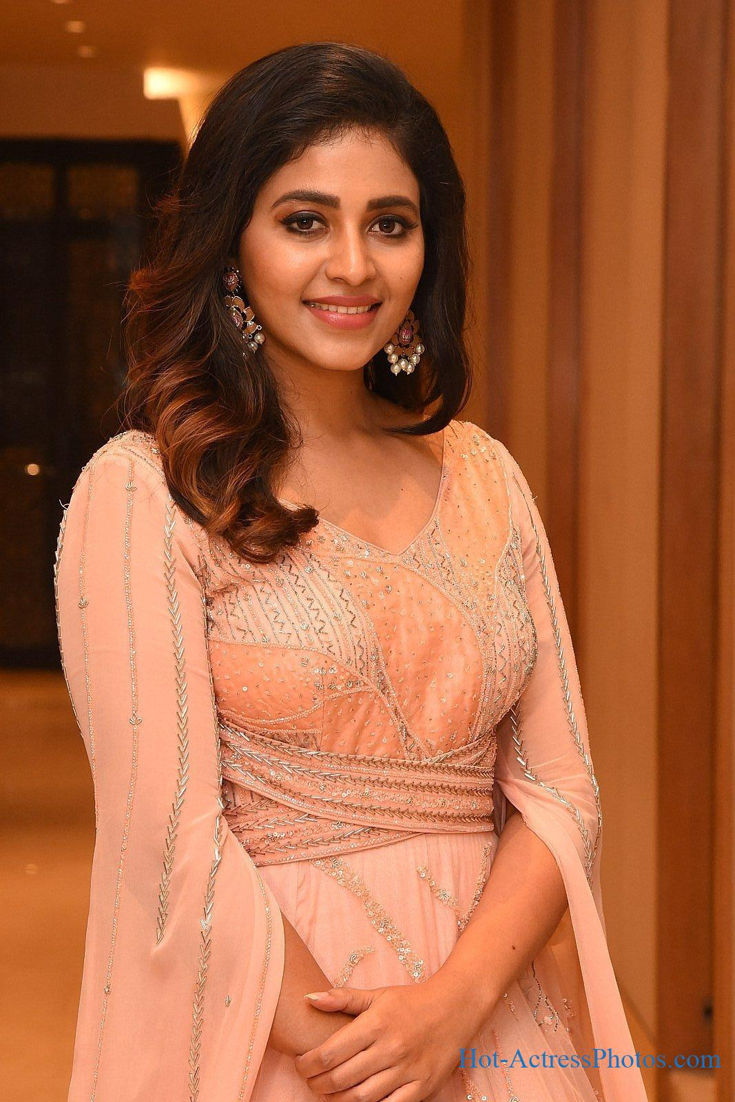 Anjali Latest Photos At Nishabdham Movie Pre-Release Event