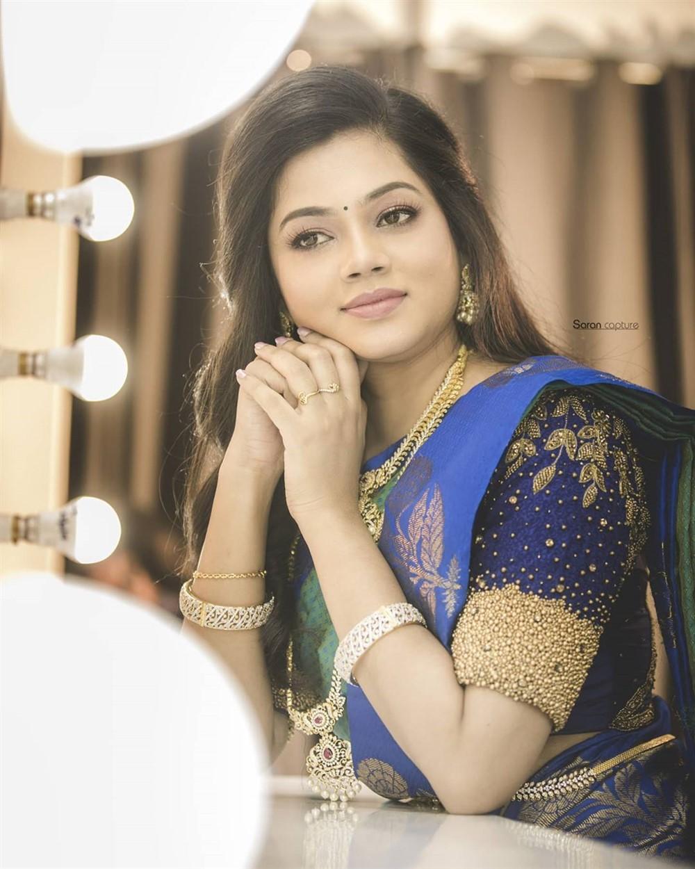 Anitha Sampath Hot Photos In Saree