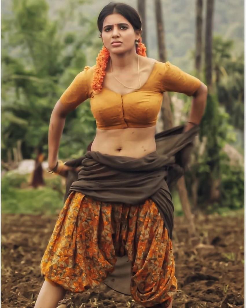 Samantha Hot And Sexy Photos In Saree