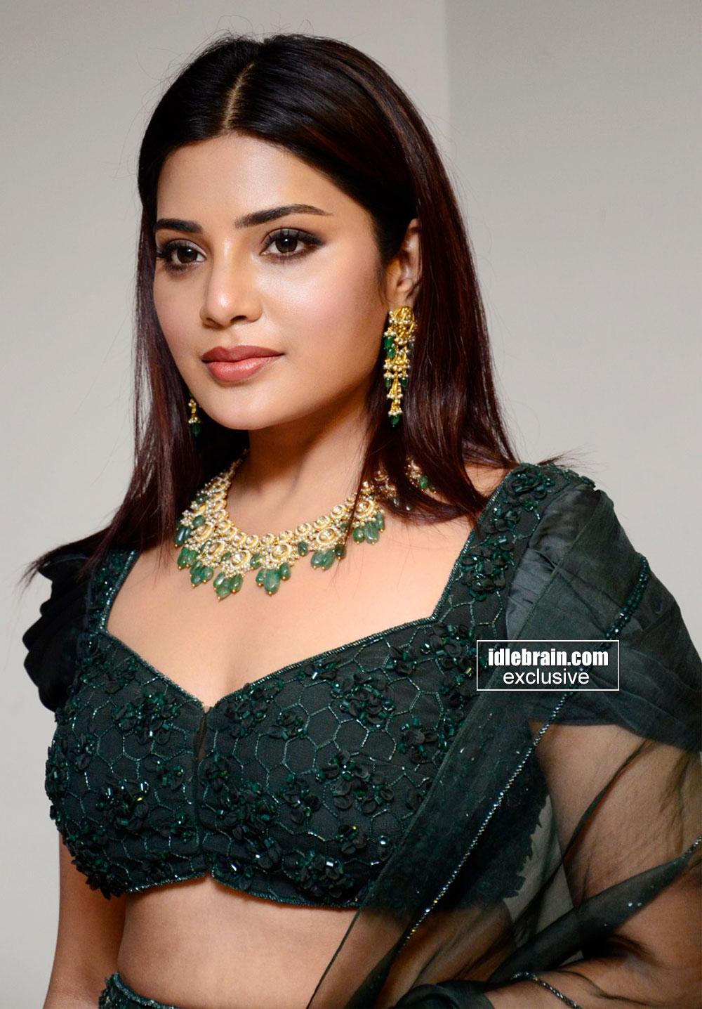 Aathmika Sexy Photos At Vijaya Raghavan Movie Pre-Release