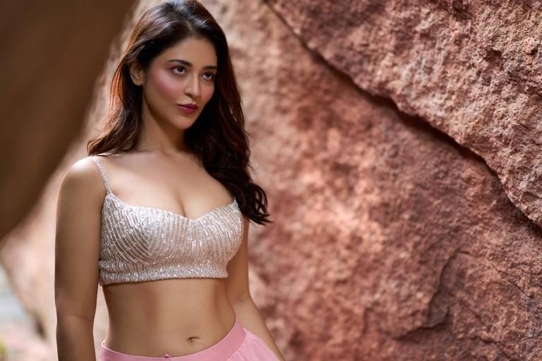 Priyanka Jawalkar Hot Boobs Cleavage And Navel Photos